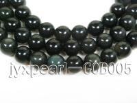 wholesale 16mm round anfibio obsidian semi-finished products GOB005