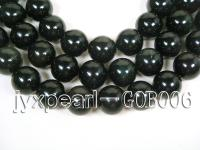 wholesale 18mm round anfibio obsidian semi-finished products GOB006