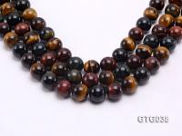 wholesale 14mm Round Tiger Eye Strings GTG038