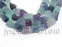 wholesale 17x18mm irregularly shaped fluorite semi-finished products GFL040
