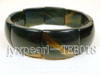 9.5x18x30mm natural Tiger eye bracelet  TEB018