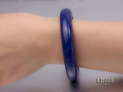 13.5mm Azure Blue Lapis Lazuli Bangle LB005 Image 2