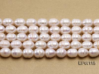 Wholesale 10x12.5mm Rice-shaped Freshwater Pearl String EPW115 Image 1