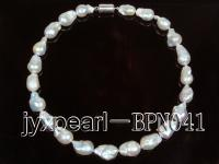 wholesale 12-15mm Baroque Pearl Necklace BPN041
