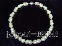 wholesale 13*19mm Baroque Pearl Necklace BPN043