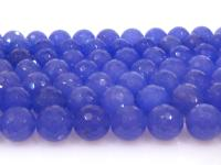 Wholesale 16mm Blue Round Faceted Gemstone String GOG193