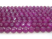 Wholesale 10mm Round Faceted Rose Stone String GOG198