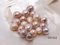 Wholesale AA-grade 16x22mm Natural Pink/Lavender Baroque Pearl  OIP053