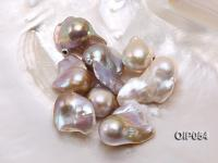 Wholesale AA-grade 18x24mm Natural Pink/Lavender Baroque Pearl  OIP054