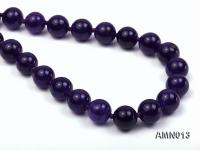 10mm Round Amethyst Beads Necklace AMN013