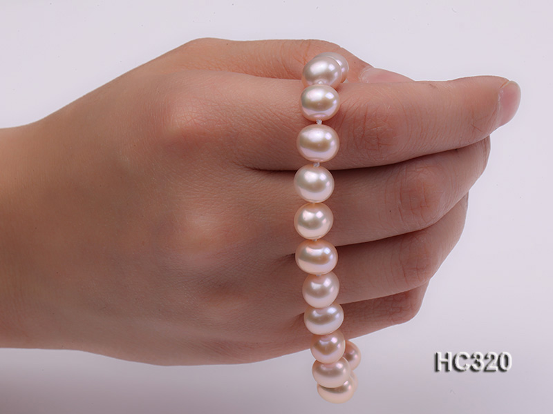 8mm AAA round freshwater pearl bracelet big Image 3