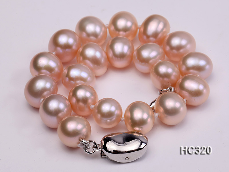 8mm AAA round freshwater pearl bracelet big Image 4