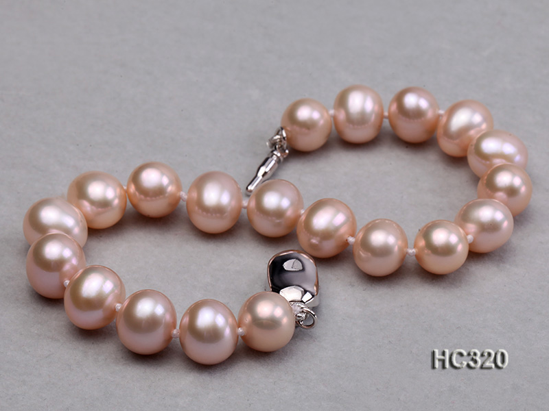 8mm AAA round freshwater pearl bracelet big Image 6