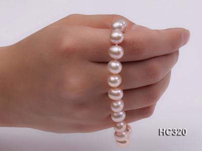 8mm AAA round freshwater pearl bracelet HC320 Image 3