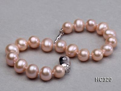 8mm AAA round freshwater pearl bracelet HC320 Image 6