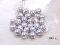 Wholesale 12.5x15.5mm Teardrop Loose Seashell Pearl  LSP108