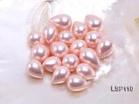 Wholesale 11X15mm Teardrop Loose Seashell Pearl  LSP110