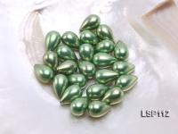 Wholesale 12X19mm Teardrop Loose Seashell Pearl  LSP112