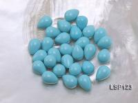 Wholesale 10X14mm Teardrop Loose Seashell Pearl  LSP123