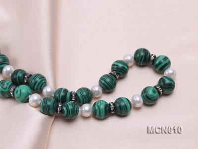 10mm Malachite Beads Necklace MCN010 Image 2