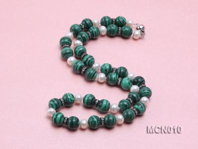 10mm Malachite Beads Necklace MCN010 Image 3