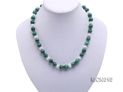 10mm Malachite Beads Necklace MCN010 Image 5