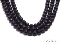 Wholesale 12mm Round Faceted Amethyst Beads Loose string CAM082