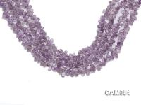 Wholesale 4x7mm Drop-shaped Amethyst Beads Loose string CAM084