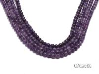 Wholesale 6.5mm Round Amethyst Beads Loose string CAM088