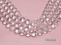 Wholesale 14mm Heart-shaped Rock Crystal Beads Loose String CWL043