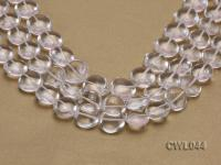 Wholesale 18mm Heart-shaped Rock Crystal Beads Loose String CWL044