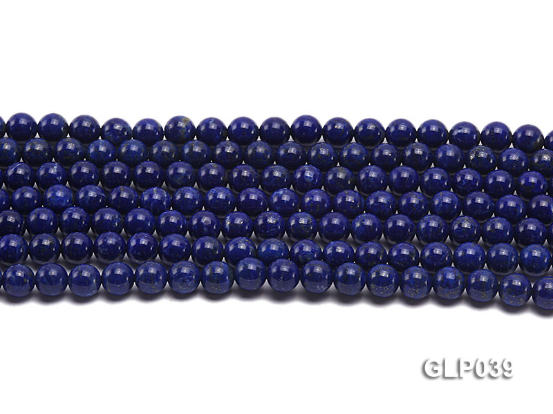 Wholesale 8mm Round Lapis Lazuli Beads Loose String big Image 2