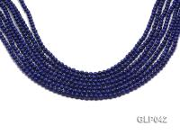 Wholesale 4mm Round Lapis Lazuli Beads Loose String GLP042