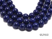 Wholesale 15.5mm Round Lapis Lazuli Beads Loose String GLP043