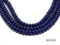 Wholesale 10x12mm Wheel-shaped Lapis Lazuli Beads Loose String GLP047