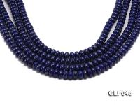 Wholesale 6x12mm Wheel-shaped Lapis Lazuli Beads Loose String GLP048