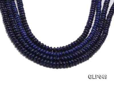 Wholesale 5x8mm Wheel-shaped Lapis Lazuli Beads Loose String GLP049 Image 1