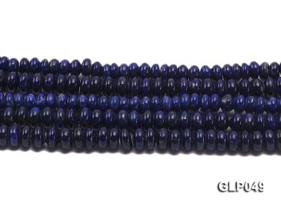 Wholesale 5x8mm Wheel-shaped Lapis Lazuli Beads Loose String GLP049 Image 2