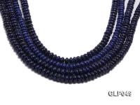 Wholesale 5x8mm Wheel-shaped Lapis Lazuli Beads Loose String GLP049