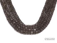 Wholesale 17mm Cubic Faceted Smoky Quartz Beads Loose String CSM030