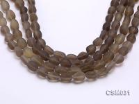 Wholesale 10x15mm Irregular Smoky Quartz Pieces Loose String CSM031