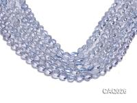 Wholesale 10mm Heart-shaped Simulated Aquamarine Beads Loose String CAQ026
