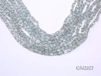 Wholesale 3x4x6mm Simulated Aquamarine Beads Loose String CAQ027