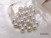 13-14mm White Round South Sea Pearl STP033