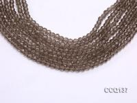Wholesale 4.5mm Round Faceted Synthetic Quartz Beads Loose String CCQ137