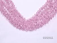 Wholesale 6x7mm Pink Synthetic Quartz Beads Loose String CCQ144
