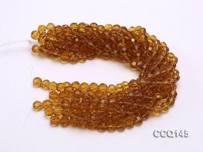 Wholesale 10mm Round Faceted Synthetic Quartz Beads Loose String CCQ145 Image 3