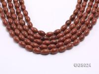 Wholesale 8x12mm Oval Goldstone Beads Loose String GGS024