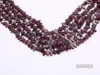 Wholesale 5x8mm Irregular Garnet Pieces Loose String GAT023