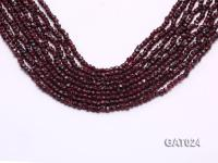 Wholesale 4mm Irregular Garnet Beads Loose String GAT024